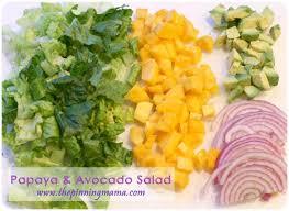 best 25 papaya avocado salad ideas on pinterest