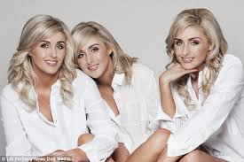 haircut models dublin model sisters who have the same haircut eat the same food and even