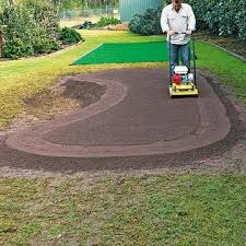 Putting Green Backyard by Our Own Future Backyard Putting Greens Backyard Pinterest