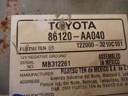 toyota address used toyota other interior parts for sale