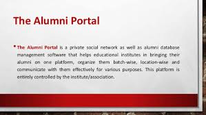 alumni network software alumni management