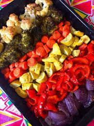 rainbow vegetables recipe u2013 easy healthy oven roasted veggies