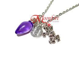 christmas light necklace things demogorgon and eleven christmas light bulb pendant