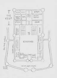 Medieval Floor Plans Castle Floor Plans A Large Plan