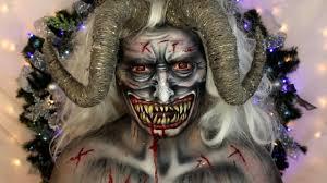 Krampus Halloween Costume Krampus Christmas Devil Makeup Tutorial Jordan Hanz
