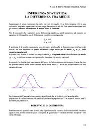 statistica descrittiva dispense compendio di statistica descrittiva probabilità e inferenza appunti