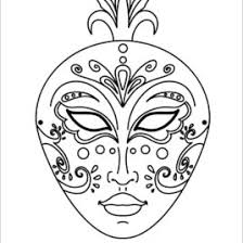 coloring pages mask kids drawing coloring pages marisa