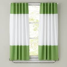 Navy And Green Curtains Curtains Kids Room Decor