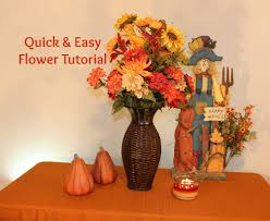 fall flower arrangements diy and easy fall flower arrangement