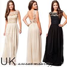 maxi dresses uk uk formal lace women prom evening party bridesmaid wedding