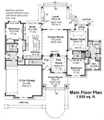 craftsman style house plan 3 beds 3 00 baths 1858 sq ft plan 51 523