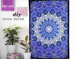 tie dye home decor future handmade twin size tie dye mandala tapestry wall hanging home