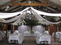 wedding backdrop canopy white luxury wedding roof drape fabric canopy drapery decoration