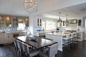 islands in kitchen long kitchen island designs