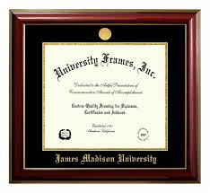 diploma frames jmu classic diploma frame with gold medallion outpost