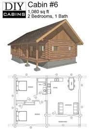 rustic cabin plans floor plans maybe widen second for bunks or add a loft space with small beds