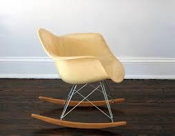eames herman miller zenith rar edge rocking chair at 1stdibs