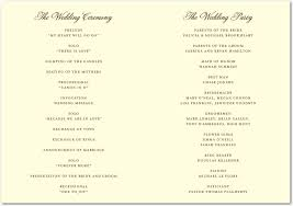 classic wedding programs 3 stylish summer wedding programs wedding guide