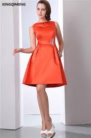 aliexpress com buy cheap simple organe fancy cocktail dresses