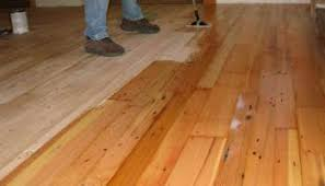 which direction should wood floors run