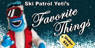 Best Gifts Under 25 by Ski Patrol Yeti U0027s Favorite Things U2013 Skier And Snowboarder Gifts