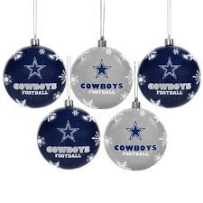 Christmas Decorations Wholesale In Dallas by Nfl Holiday Decorations Gift Bags Ornaments Stocking Stuffers