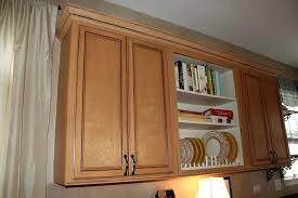 Traditional Double Sided Kitchen Double Crown Molding Double Crown Molding On Cabinets U2013 Demodev Site