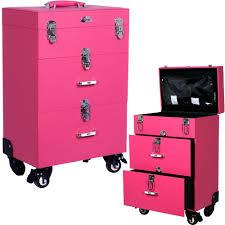 professioal opi nail polish manicure makeup trolley case box