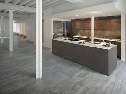 Grey Wood Floors Kitchen by Tile That Looks Like Wood Larix