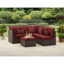 Walmart Outdoor Furniture Sets by Ragan Meadow 7 Piece Outdoor Sectional Sofa Set Seats 5 After We