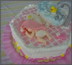 cute baby cakes that are perfect for a baby shower