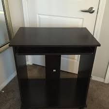 Find More Small Rolling Computer Desk Great Condition Lightly