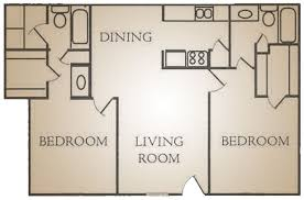 plan g 2 bedroom 2 bath 975 sq ft meyerland court