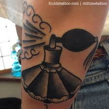 perfume bottle foulds tattoo