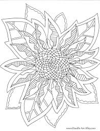 symmetry coloring pages flower coloring pages doodle art alley