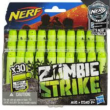 amazon com official nerf zombie strike 30 dart refill pack toys