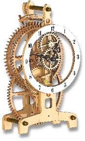Free Simple Wooden Gear Clock Plans by Free Wooden Clock Plans Wooden Clocks Pinterest Wooden Clock