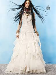 hippie boho wedding dresses yolan chris hippie bohemian wedding bridal gown