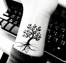 collection of 25 birds tree tattoos on wrist