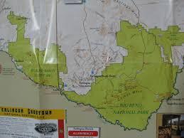 Big Bend Map Big Bend Natl Park On March 6 8 Archive Hammock Forums