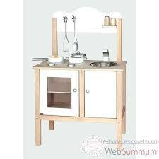 janod maxi cuisine chic cuisine jouet en bois viga toys cuisine noble blanche v50223 cuisine