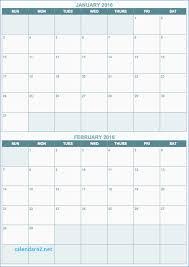printable calendar multiple months unique printable calendar double month calendar