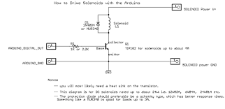 arduino solenoid electrical characteristics electrical
