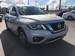 2017 nissan armada cloth interior 2017 used nissan pathfinder fwd sv at michaels autos serving