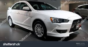 mitsubishi lancer ex 2017 guangzhou china dec 1gac mitsubishi lancer stock photo 122079421