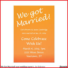 wedding reception wording awesome post wedding reception invitations wording gallery of
