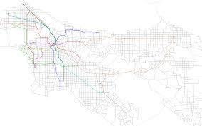 Metro Gold Line Extension Map by Rethinking Metrolink Part 1 Let U0027s Go La