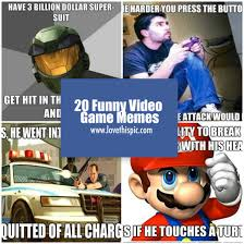 Memes Game - 20 funny video game memes