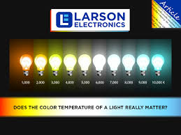 light bulb kelvin scale lighting 101 color temperature what is the kelvin scale larson