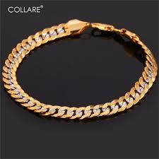 aliexpress buy collare trendy two tone bracelet men jewelry